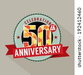 50 Years Anniversary Celebration Design