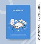 doctor prescription concept for ...   Shutterstock .eps vector #1924132883