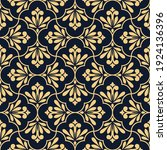 flower geometric pattern.... | Shutterstock .eps vector #1924136396