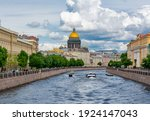 St. Isaac's Cathedral And Moyka ...