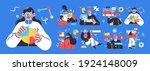 business concept illustrations. ...   Shutterstock .eps vector #1924148009