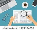 flat design illustration of... | Shutterstock .eps vector #1924176656
