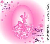 Happy Womens Day Beautiful Pink ...