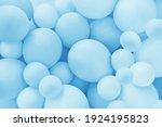 Light Blue Balloons Background  ...