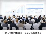 business presentation | Shutterstock . vector #192420563