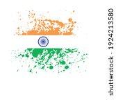 flag of india   flag vector   ... | Shutterstock .eps vector #1924213580