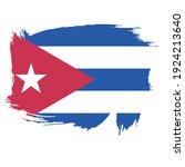 flag of cuba   flag vector   ... | Shutterstock .eps vector #1924213640