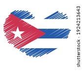 flag of cuba   flag vector   ... | Shutterstock .eps vector #1924213643