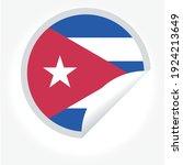 flag of cuba   flag vector   ... | Shutterstock .eps vector #1924213649