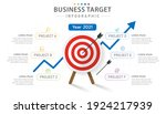 infographic template for... | Shutterstock .eps vector #1924217939