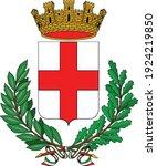 vector coat of arms... | Shutterstock .eps vector #1924219850