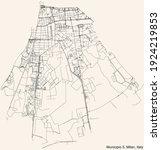 black simple detailed street... | Shutterstock .eps vector #1924219853