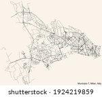black simple detailed street... | Shutterstock .eps vector #1924219859