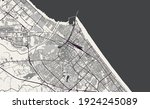 vector map of the city of... | Shutterstock .eps vector #1924245089