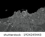 vector map of the city of... | Shutterstock .eps vector #1924245443