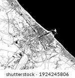 vector map of the city of... | Shutterstock .eps vector #1924245806