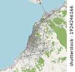 vector map of the city of... | Shutterstock .eps vector #1924246166