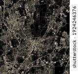 vector map of the city of monza ... | Shutterstock .eps vector #1924246376