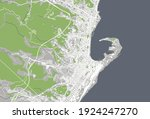 vector map of the city of... | Shutterstock .eps vector #1924247270
