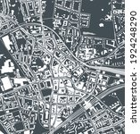 vector map of the city of... | Shutterstock .eps vector #1924248290
