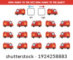 left or right with cartoon fire ... | Shutterstock .eps vector #1924258883