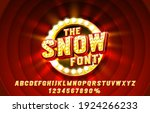 show font set collection ...   Shutterstock .eps vector #1924266233