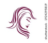 hair salon  beauty studio logo... | Shutterstock .eps vector #1924295819