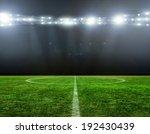 green soccer field  bright... | Shutterstock . vector #192430439