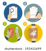 business concept delivery. set... | Shutterstock .eps vector #192431699