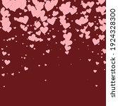 Pink Heart Love Confettis....