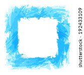 blue background with square... | Shutterstock . vector #192433109