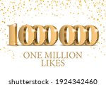 anniversary or event 1000000.... | Shutterstock .eps vector #1924342460