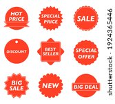 tags set. badges and labels... | Shutterstock . vector #1924365446