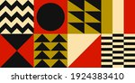abstract banner of decorative... | Shutterstock .eps vector #1924383410