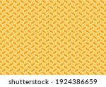 wheat pattern wallpaper. oat... | Shutterstock .eps vector #1924386659