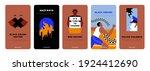 black lives matter vertical... | Shutterstock .eps vector #1924412690