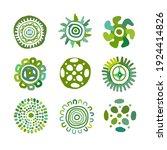 ethnic handmade ornament for... | Shutterstock .eps vector #1924414826