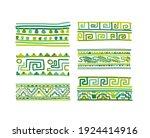 ethnic handmade ornament for... | Shutterstock .eps vector #1924414916