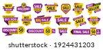 sale tag design badge set.... | Shutterstock .eps vector #1924431203
