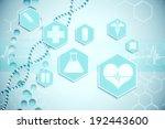 digitally generated medical...   Shutterstock . vector #192443600