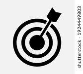 target icon vector.  for... | Shutterstock .eps vector #1924449803