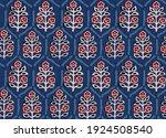 seamless ajrakh paisley bunch... | Shutterstock .eps vector #1924508540
