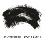 round brush thick curved... | Shutterstock .eps vector #1924511546