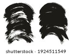 round brush thick curved... | Shutterstock .eps vector #1924511549