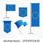 realistic 3d detailed europe...   Shutterstock . vector #1924551410