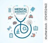 medical diagnostics concept...   Shutterstock . vector #1924552463