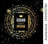 grand opening card poster...   Shutterstock . vector #1924553783
