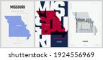 24 of 50 sets  us state posters ...   Shutterstock .eps vector #1924556969