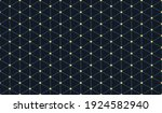 tiny simple cubic pattern  geo...   Shutterstock .eps vector #1924582940