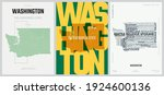 42 of 50 sets  us state posters ...   Shutterstock .eps vector #1924600136